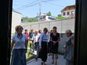 Ukraine's First Lady Visits Children's Hospice in Tbilisi