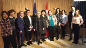 EU Association Agenda monitoring NGOs visit Brussels