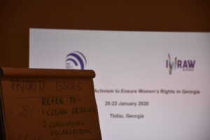 CEDAW Activism to Ensure Women's Rights in Georgia